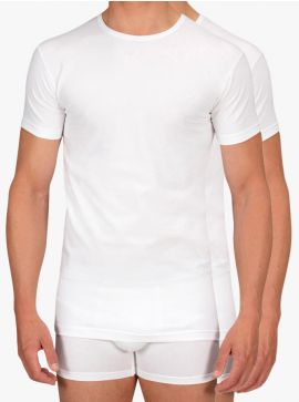 Alan Red 2-pack T-shirts Ottawa Body Fit O-Neck