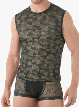 Gregg Homme Muscle Shirt Camo